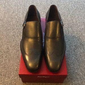 Salvatore Ferragamo Black Loafers - 11D